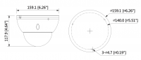 Artikelbild D-IPC-HDBW5431E-Z5E (2) --ite